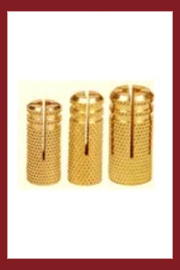 Brass Dowel Plugs Anchors