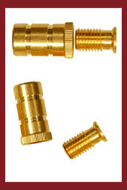 Pool Cover Brass Anchors